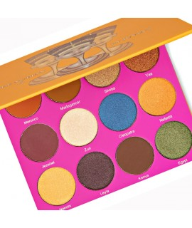 The Nubian II Palette by Juvia