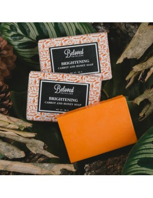 Carrot & Honey Soap (For Oily Skin)